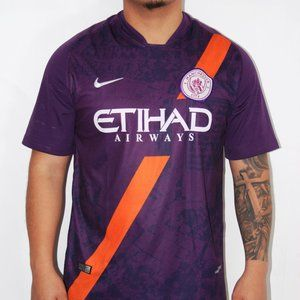 Manchester city #10 aguero home soccer jersey